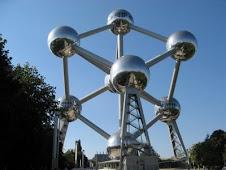 O Monumento Atomium, em Bruxelas