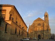 Úbeda.Espanha.Capela de S: Salvador e Palácio del Déan Ortega
