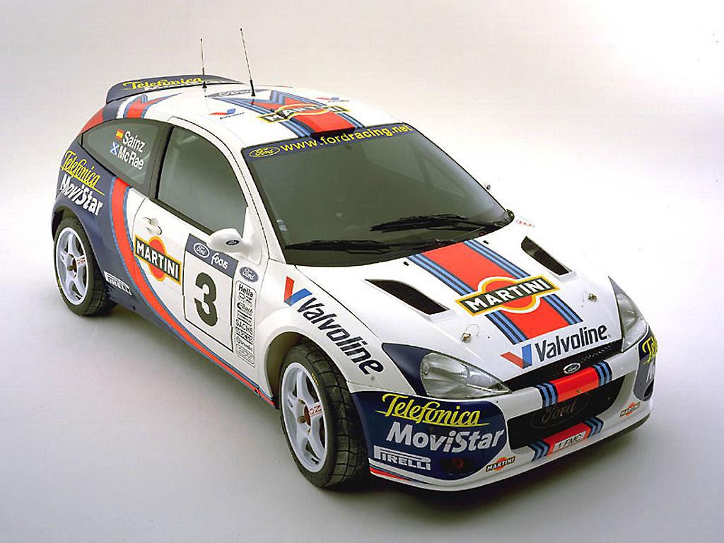 2000 Ford Focus Rally Car