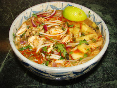 Penang Assam Laksa Recipe (Nyonya Hot And Sour Noodles In Fish Soup ...