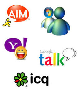 instant messaging icons