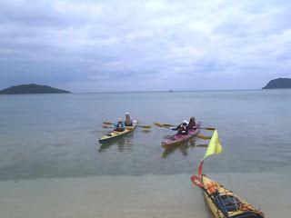 西表島・船浮湾を漕ぐ・LBカヤック