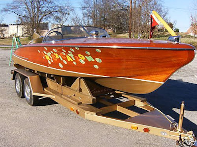Chris Craft 21 Foot Original Hemi Cobra On eBay.