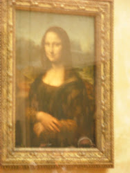 Mona Lisa, Louvre!