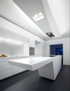 Sophisticated Technology Installed In It Kitchen With Stunning Modern