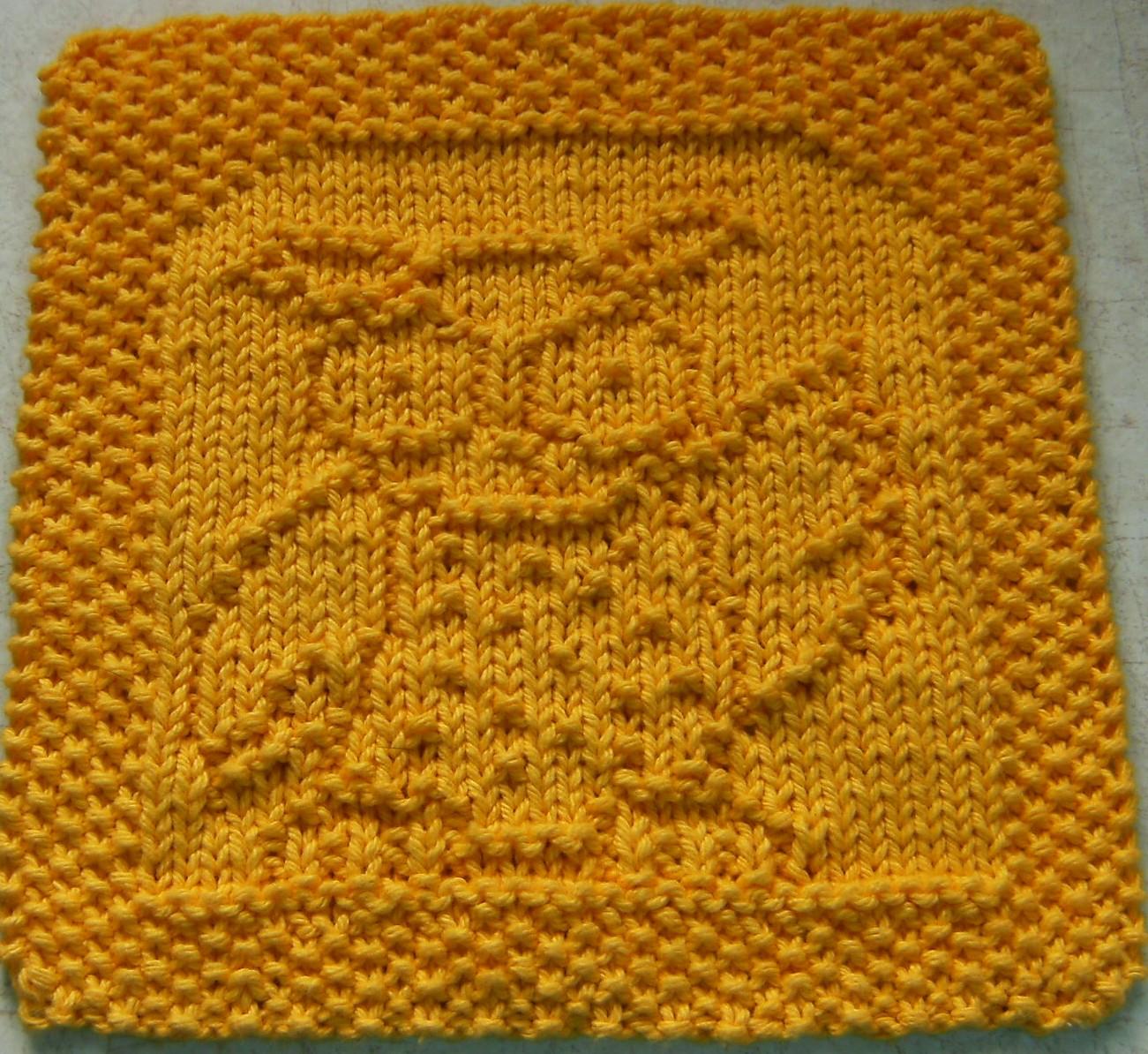 Owl Dishcloth Knitting Patterns Free : Down cloverlaine whooo loves ya baby cloth