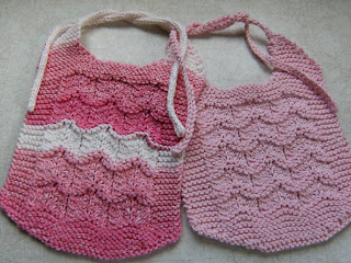Infinity Scarf Free Knitting Patterns : Baby Bibs