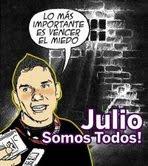 Julio Rivas de  JAVU:  Semblanza,   Lucha,  Ataques y  Encarcelamiento