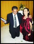 Pastor Presidente Antonio Lima e sua esposa Missionária Vera Lima