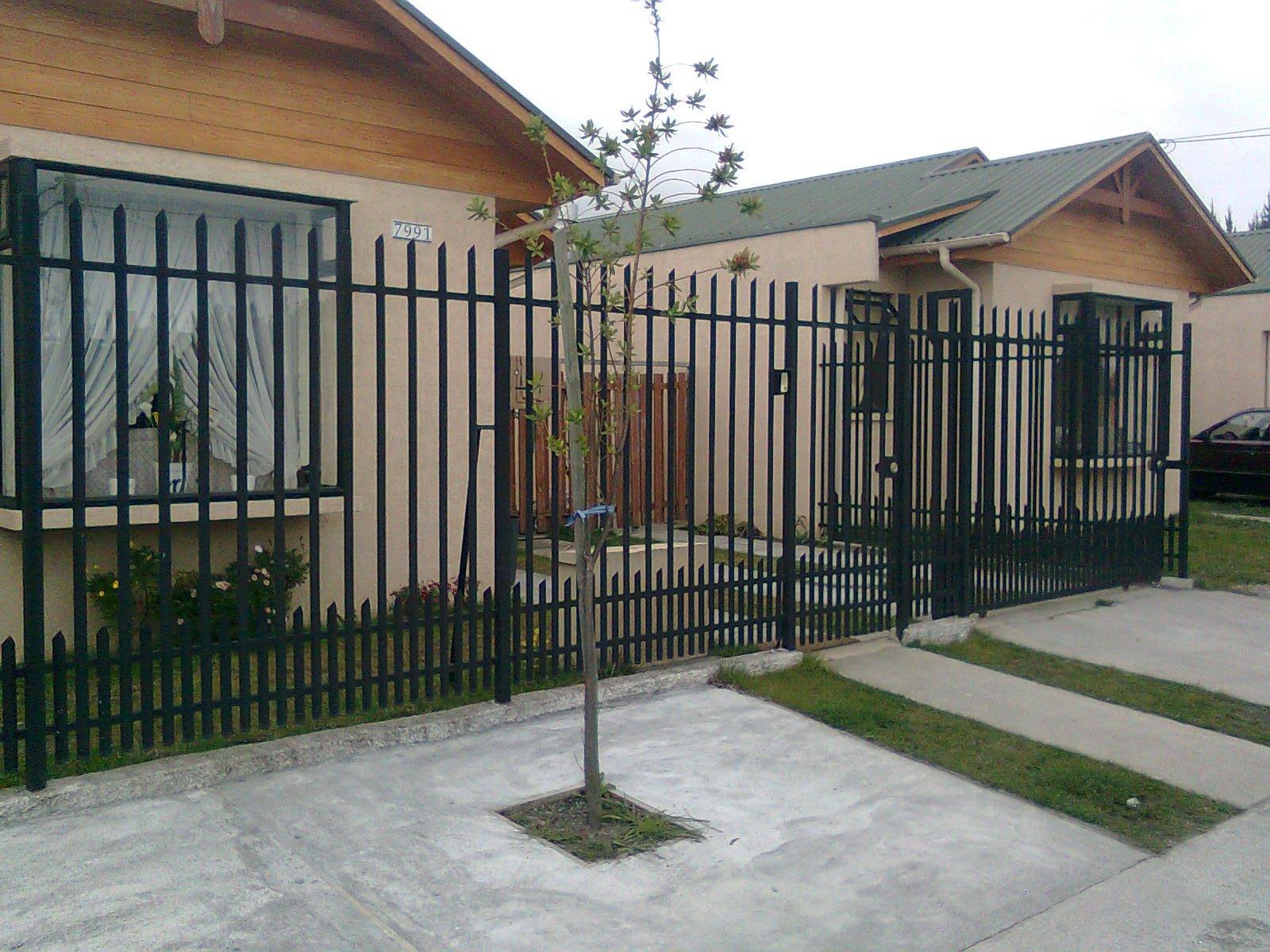 Rejas portones metalicos for Modelos de portones metalicos para casas