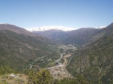 Vista de San José de Maipo