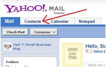cara membuat buku alamat pada email