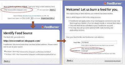 cara membuat FeedBurner