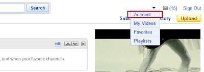 cara meletakkan foto ke Youtube
