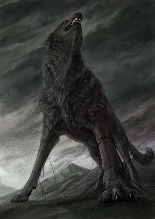 hablemos de criaturas mitologicas! Fenrir
