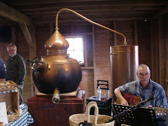 copper distiller at Sweetgrass Winery