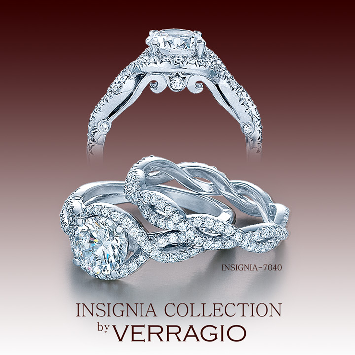 Engagement Verragio rings: the insignia collection