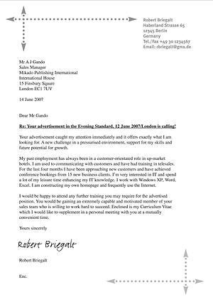 das anschreiben covercovering letter - Bewerbung Lufthansa