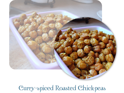 Curry-spiced Roasted Chickpeas