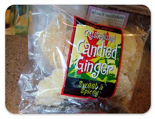 Rookie Cookie: Glazed Lemon Scones wih Candied Ginger