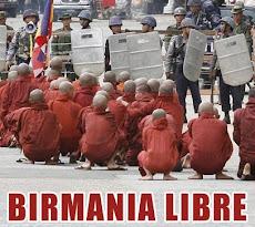 Libertad en Birmania