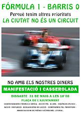 No al circuito urbano de Fórmula 1 en Valencia, porque tenemos otras prioridades