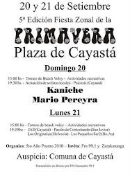 Festejamos la Primavera 2009 en Cayastá
