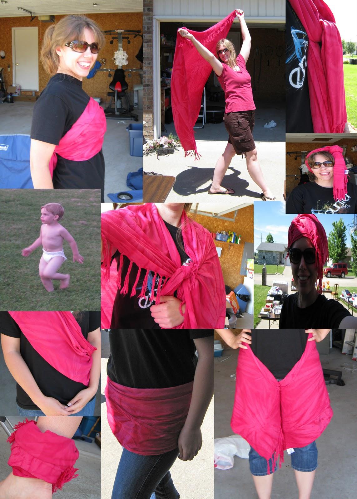 sarong can be a skirt, a blanket, a hijab, a headband, a halter ...