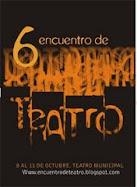 invitada al 6º encuentro de teatro Olavarria 2009
