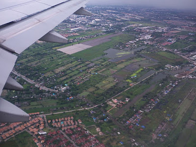 Bangkok from Aeroplane