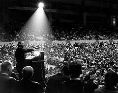 photo, Martin Luther King, Jr. San Francisco June 30 1964, courtesy of George Conklin
