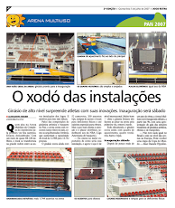 GUARDA-CORPO E CORRIMÃO EM FERRO