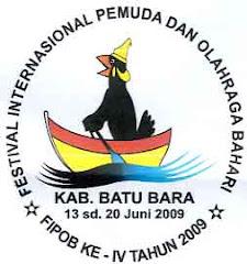 LOGO FESTIVAL INTERNASIONAL PEMUDA DAN OLAH RAGA BAHARI KAB.BATU BARA