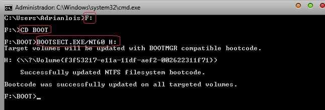 instalar windows 7 en un pendrive y hacerlo booteable manual