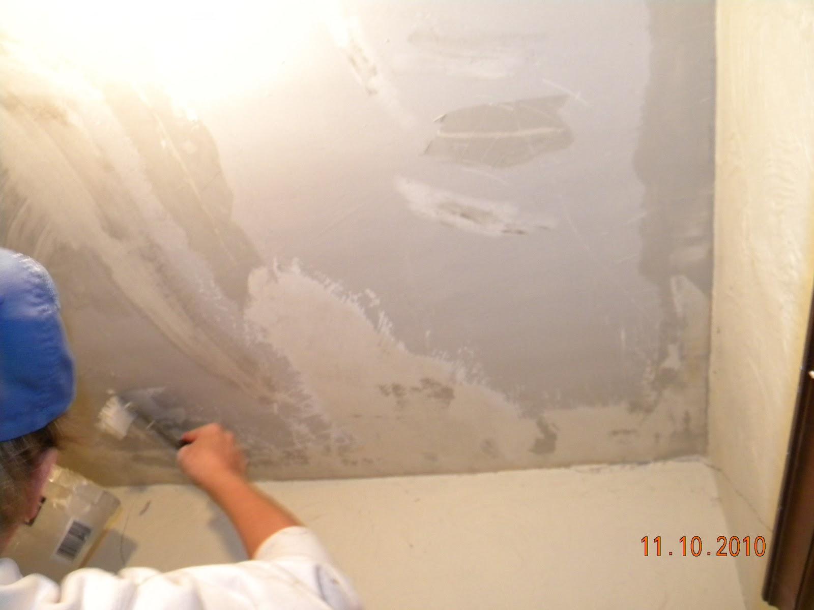 Как сделать известковую побелку для потолка