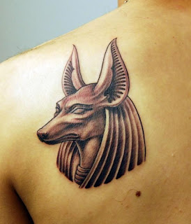 Anubis Tattoo Designs