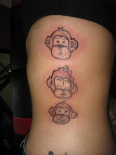monkeys Tattoos