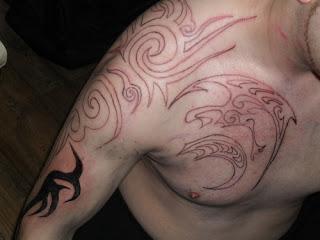 Tribal lines Tattoo
