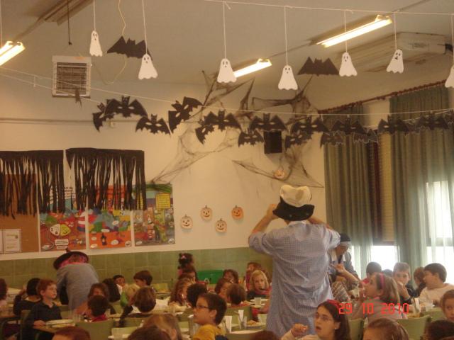 Nuestro comedor hispanidad elx halloween 2010 for El comedor escolar