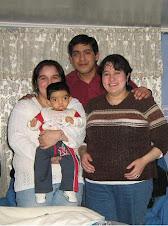 CON MAMÁ Y MIS PADRINOS