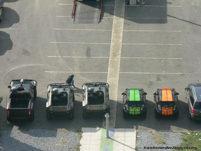 transformers live action movie blog  tflamb   transformers 3 dc parking lot gallery