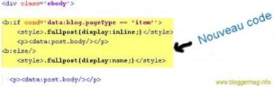nouveau code