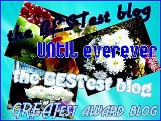 The bestest blog award