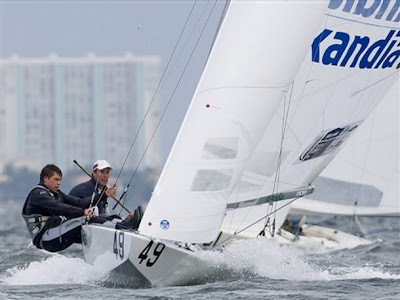 Iain Percy and Andrew Simpson Olympic gold sailing
