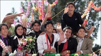 Rohullah Nikpai Afghans first Olympic medalist Taekwondo