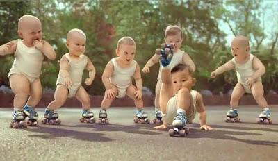 Watch Breakdancing Babies on skates video