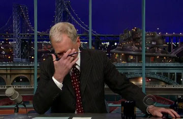 David Letterman Scandal Video