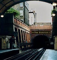 The District Line at Notting Hill Gate (The Last of the Wallendas)