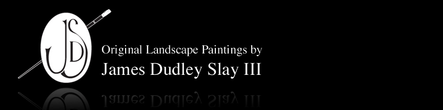 James Dudley Slay III - Landscape Painter