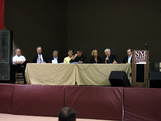 The Monday morning panel at the DC-X Reunion Conference. Photo Credit: W. Pomerantz, X PRIZE Foundation.